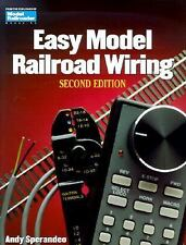 Easy Model Railroad Wiring by Andy Sperandeo (1999, Paperback) Very Good Cond!!