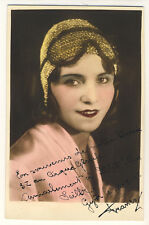 "Circus ACROBAT GIRL ""FRANCY"" AKROBATIN Zirkus Gleich * Vintage 30s Photo PC"