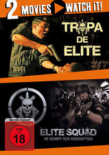 Tropa De Elite + Elite Squad - 2 Movie Watch it - 2 DVD - Neu u. OVP -  FSK 18