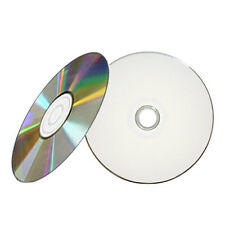 500 52X White Inkjet HUB Printable CD-R CDR Blank Disc [FREE EXPEDITED SHIPPING]