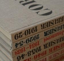 LE CORBUSIER: OEUVRE COMPLET 1910 - 1965 6 Bände frühe Auflagen bauhaus