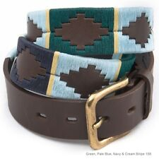 Polo Belts by Pioneros in Assorted Colours