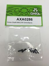 Axial AXA0286 Screw Shaft (6-Piece), 4x2.5x12mm