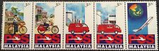 Launch of Pos Malaysia 5v Minh 1.1.1992