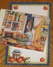 Sweet Apples Lisa Blowers Artwork 1998 Main Street Press Note Cards 4ct