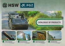 HSW PGZ CATALOGUE OF PRODUCTS 2015 INCL 6x6 8x8 JELCZ MILITARY BROCHURE PROSPEKT