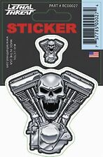 Lethal Threat V-Twin Engine Decal RC00027