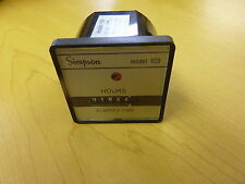Simpson 109 Elapsed Time Counter 10.80 VDC (12507)