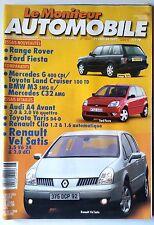 Le moniteur Automobile 31/01/2002; Range Rover/ Ford Fiesta/ Vel Satis/ Audi A4