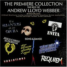 Andrew Lloyd Webber Premiere Collection Best Of CD NEW SEALED Evita/Requiem+