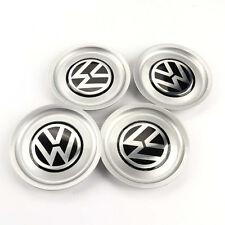 155mm 4PCS VW Logo Wheel Center Hub Rim Cap Cover for 1J0601149B Jetta Golf MK4