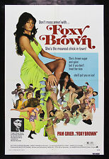 FOXY BROWN * CineMasterpieces ORIGINAL MOVIE POSTER NM-M PAM GRIER 1974