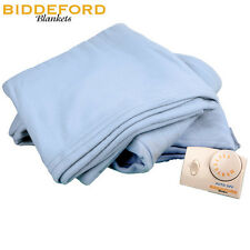 "Biddeford Comfort Full Size 72"" x 84""  Knit Electric Blanket w/ 10 Heat Settings"