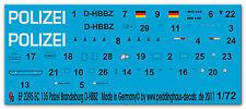 1/72 ep 2395 EC 135 Polizei Brandenburg D-HBBZ