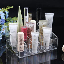 Clear 24 Makeup Lipstick Cosmetic Storage Display Stand Rack Holder Organizer IT