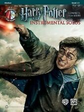 Harry Potter Film Series Instrumental Solos For Clarinet, Book & CD