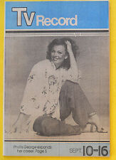 Phyllis George PEOPLE Bergen County NJ Sunday Record TV Week guide Sept 10 1978