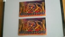 2x Rolling Stones Stage official stickers.