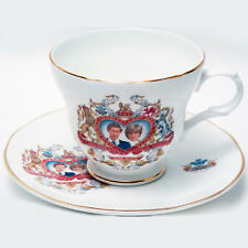 Diana & Charles Wedding Cup/Saucer Crown Trent Bone China NEW NEVER USED England