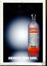 Cartolina Promocard Absolut Vodka Feng Shui #245