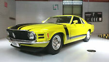 Ford Mustang 1970 Boss 302 1:24 Scale Welly Diecast Detailed Model Car 22088