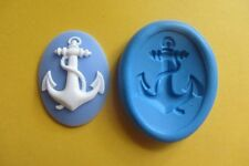 ANCHOR CAMEO SILICONE MOULD Sugarcraft Fondant Cake Topper Fimo Cernit Chocolate