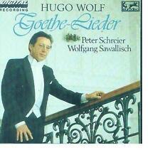 Hugo Wolf: Goethe-Lieder Peter Schreier and Wolfgang Sawallisch RAR! Neu