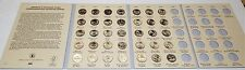 2010-2016 BU AMERICA THE BEAUTIFUL NATIONAL PARKS QUARTERS COMPLETE SET 35 COINS