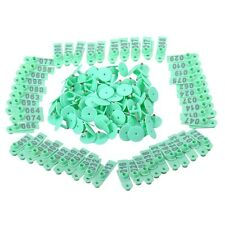 100 Pcs Mutton Goat Livestock Sheep Use Ear Tag Eartag Animal Tag green