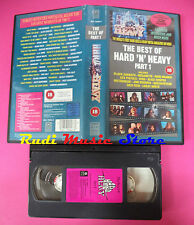 VHS THE BEST OF hard n heavy PART 1 1991 MOTORHEAD KISS (VM4) no mc dvd lp