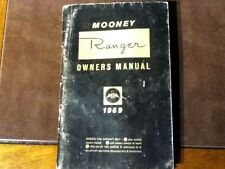 1969 Mooney Ranger M20C Owner's manual