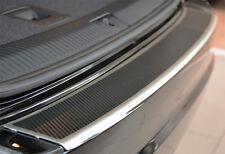 OPEL ZAFIRA C TOURER AluNox Carbon Ladekantenschutz mit Abkantung und  Carbon