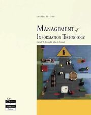 Management of Information Technology by John C. Frenzel, Carroll W. Frenzel...