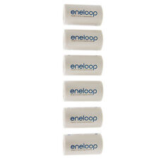 (Lot 6) Eneloop Battery Converter Battery Adapter Holder AA R6 To C R14 C-Size