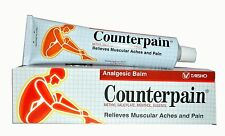 120g COUNTERPAIN HOT WARM HEAT ANALGESIC BALM CREAM MUSCLE PAIN TENSION RELIEF