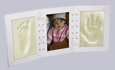 Baby Photo Frame With Memory Prints - Baby Foot (Feet) & Hand Print Casting Kit