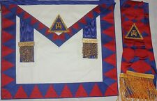 Royal arch Provincial Lambskin Apron And Sash  )(Brand new)