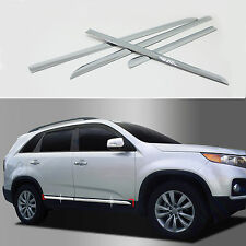 Chrome Side Skirt Molding Trim Cover for 11+ Sorento Sorento R