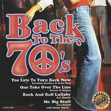 Various Artists, Back to the 70's Audio CD
