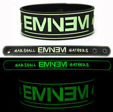 EMINEM Rubber Bracelet Wristband The Marshall Mathers Glows in the Dark