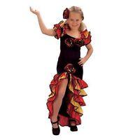 Mädchen Rumba Mädchen Spanischer Flamenco Kostüm