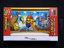 Pokemon Center Original New Nintendo 3DS LL XL TPU Cover Mario-pikachu Japan