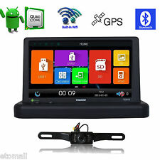7'' Android 4.4 Universal Car Stereo Multimedia GPS Navigation Player + CAM