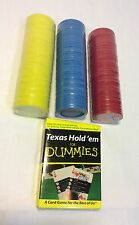 Texas Holdem For Dummies Card Deck And Poker Chips