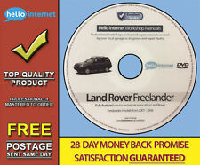 LAND ROVER FREELANDER • Workshop Service & Repair Manual + Free Wiring Diagrams