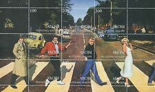 HOLLYWOOD STARS ABBEY ROAD MINT STAMP SHEETLET - BOGART ELVIS MARILYN MONROE