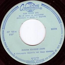 """CATERINA CASELLI - Re di cuori / L'esistenza SAN REMO 1970 Hungary single 7"""""""