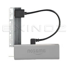 Exinoz Mini Cavo USB TV di fuoco-Connect Fire Stick dritto al TV porta USB 20cm