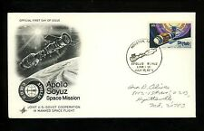 US Postal History Space Apollo-Soyuz Link Up 7/17/1975 Artcraft Cachet