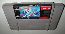 Super Nintendo Game MEGA MAN X! Cleaned, Tested! Iconic Series Original SNES